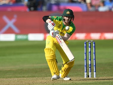 Afghanistan vs Australia, ICC Cricket World Cup 2019: David Warner smashes unbeaten 89 to take Australia off to winning start