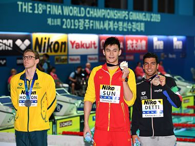 FINA World Championships 2019: Australian swimmer Mack Horton slammed by Chinese media after feud with Sun Yang