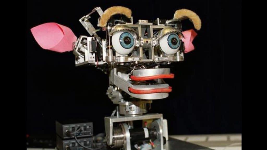 Kismet robot. Photo credit: https://zd.net/2LxRGHp
