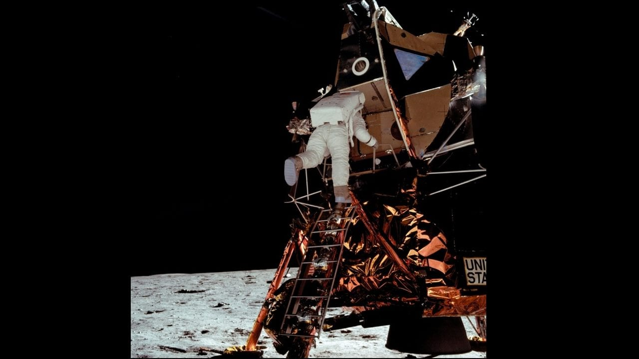 Apollo 11: Michael Collins returns to launch site on 50th anniversary