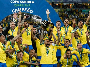 Copa America 2019: Ten-man Brazil beat Peru 3-1 in final to lift trophy for first time in 12 years