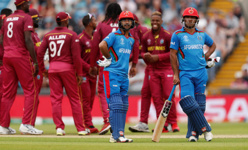 Afghanistan failed to register a win at the World Cup. Reuters