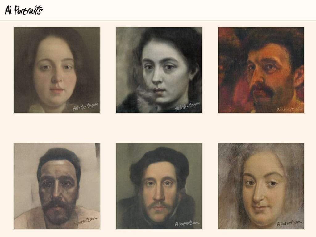 After FaceApp, new AI tool turns selfies into creepy classical portraits