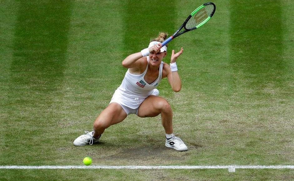 Williams is seeking an eighth Wimbledon title and 24th Grand Slam victory, while Riske was playing her first quarter-final at a major tournament. AP