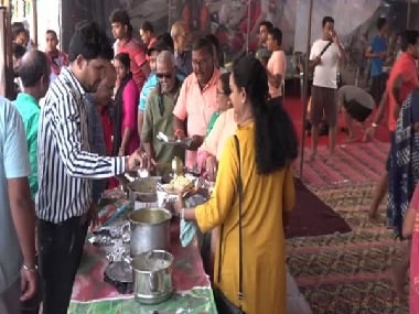 Amarnath Yatra: Langar committees set up sheds along National Highway to provide food, medical aid to pilgrims trekking to shrine