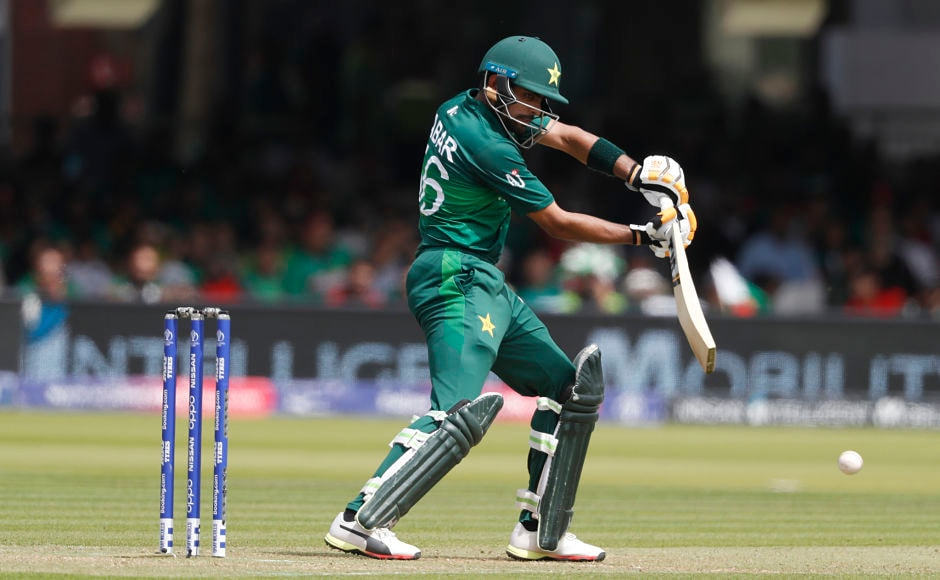 Pakistan's Babar Azam missed out on a century after he was dismissed for 96 by Mohammad Saifuddin. With this, Saifuddin also broke the 157-run partnership between Babar and centurion Imam-Ul-Haq. AP