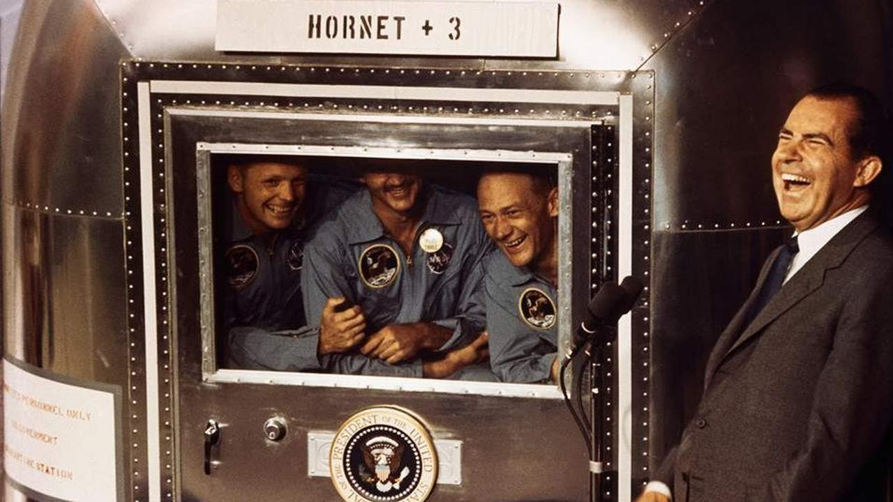 Apollo 11's astronauts snapped photos for science. Then came MTV