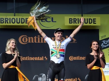 Tour de France 2019: Daryl Impey wins stage nine of race as Julian Alaphilippe keeps hold of yellow jersey