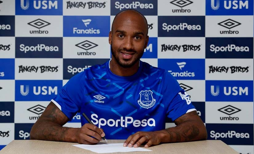 Fabian Delph was a crucial part of Pep Guardiola's set-up at Manchester City, but most of his playing time came off the bench or as back-up in a number of roles, including left-back. Twitter@Everton