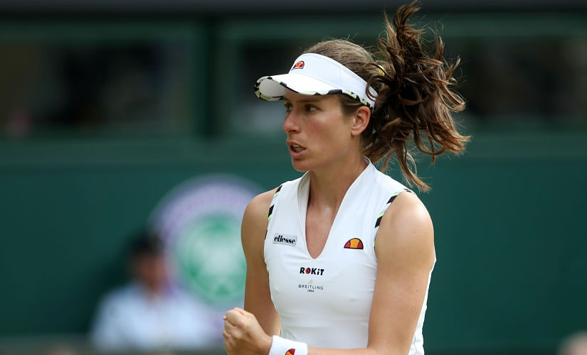 Currently at No. 18, the 28-year-old Konta has been seeing a steady, even-paced climb up the rankings, with her inspired performance at the French Open playing no small part. Reuters