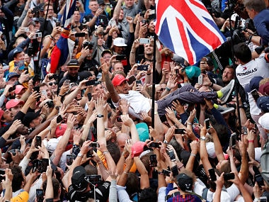 British Grand Prix 2019: Lewis Hamilton says home support gave him energy to claim record sixth win at Silverstone