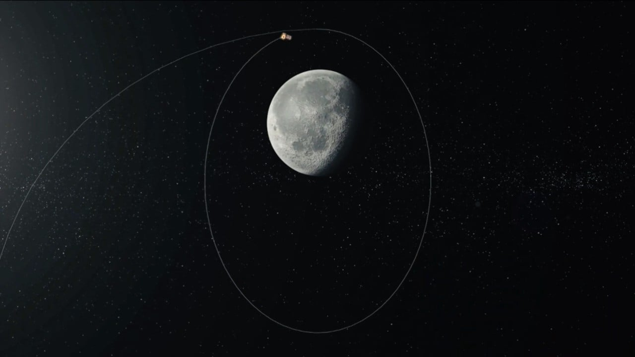 Chandrayaan-2 lowers course around the Moon