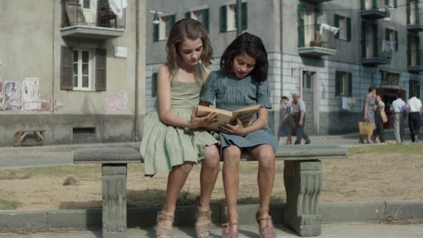 Elisa Del Genio as Elena and Ludovica Nasti as Lila in My Brilliant Friend | HBO