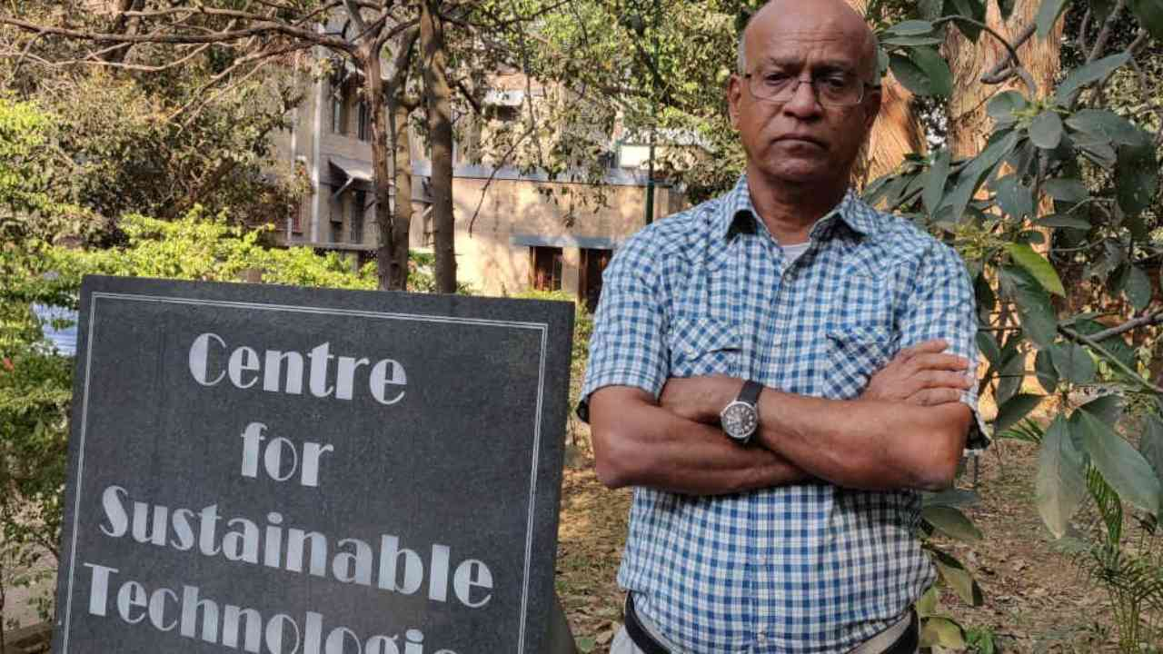 N H Ravindranath, a climate scientist at the Indian Institute of Science in Bengaluru, is the lead researcher preparing the first national assessment of the impact of climate change in India. image credit: India spend