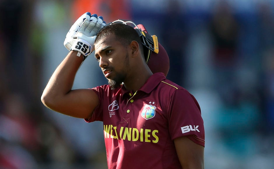 West Indies' Nicholas Pooran impressed with a knock of 118 off 103 balls. His knock, which eventually went in vain, consisted of 11 fours and four sixes. AP