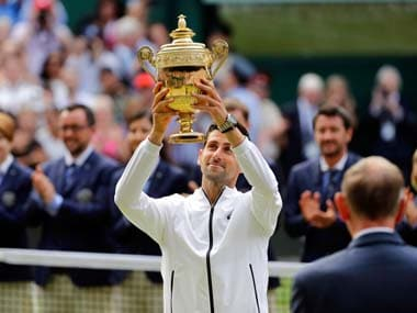 Wimbledon 2019: Novak Djokovic consolidates top spot in ATP rankings after clinching his fifth title