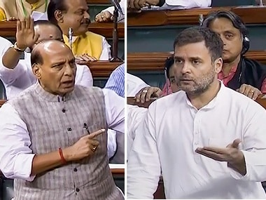 Rahul Gandhi, Rajnath Singh lock horns over farmers woes in Lok Sabha; Congress downplays  trillion economy target in RS