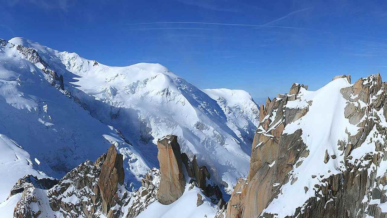Climate change hits the French Alps hard, rockfalls and grey snow common occurrence