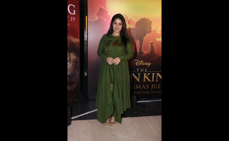 Sunidhi Chauhan will croon to the Hindi version of 'Can you feel the love tonight' along with Armaan Malik for the Hindi remake of The Lion King