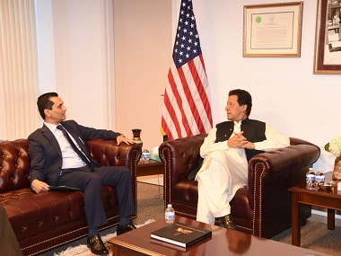 No senior US official present to welcome Imran Khan on maiden visit; Shah Mahmood Qureshi receives Pakistan PM