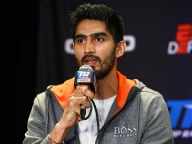 Vijender Singh set for US debut against Mike Snider; ace Indian boxer confident of knocking American opponent down early