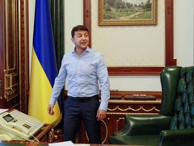 Ukraine president Volodymyr Zelenskiy set to press ahead with bid to host Olympics in spite of struggling economy