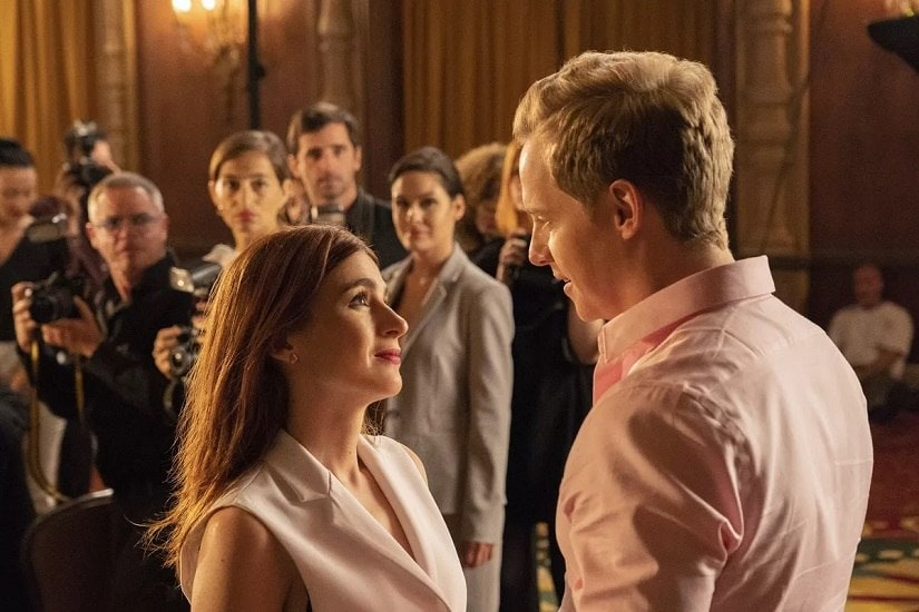 Aya Cash as Gretchen and Chris Geere as Jimmy in You're the Worst | FX