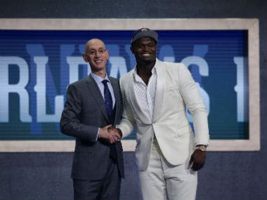 NBA: Nike signs No 1 draft pick Zion Williamson to its Jordan brand in undisclosed endorsement deal