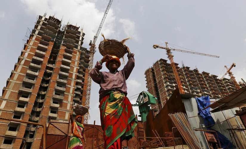 The construction industry is another sector where bonded labour is high, claim experts. Reuters