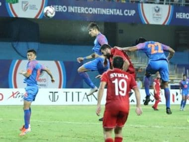 India vs Syria, Highlights, Intercontinental Cup 2019 Football Match