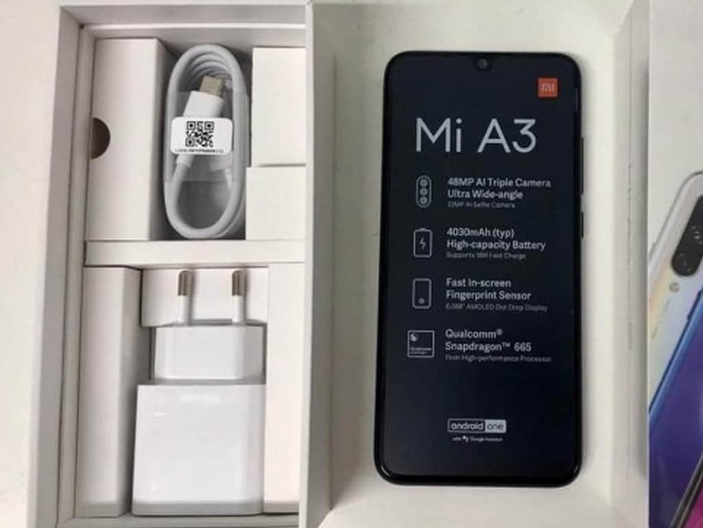 Xiaomi Mi A3 leaked images reveal 48 MP camera, Snapdragon 665 SoC, more