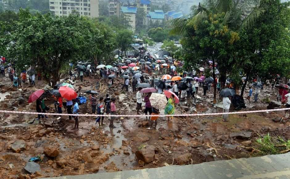 Twenty one people were killed and 78 injured in a wall collapse in the northern suburb of Malad in Mumbai early on Tuesday following heavy rains. PTI