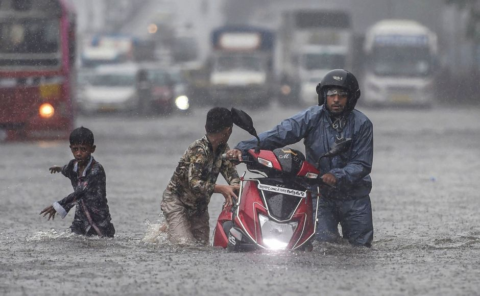 Mumbai was on Tuesday paralysed by incessant rain, which left many parts of the financial capital waterlogged and 21 dead in a wall collapse in the city. Fourteen persons died in the rest of Maharashtra in rain-related incidents since Monday. PTI