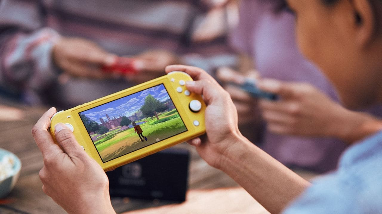 Nintendo sold 1.95 million handheld-only Switch Lite units since its September launch