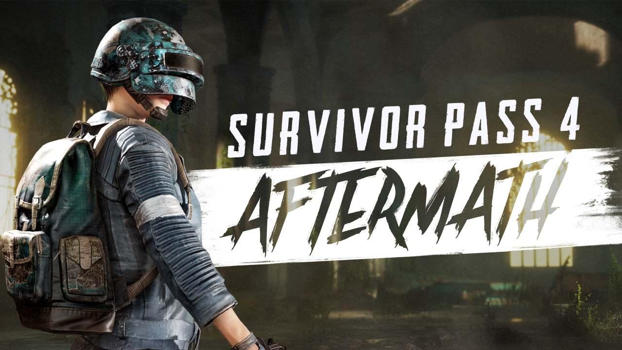 PUBG PC Survivor Pass: Aftermath.