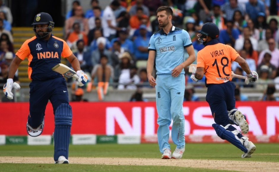 Rohit Sharma and Virat Kohli ran India close before the middle order's woes surfaced yet again. AFP