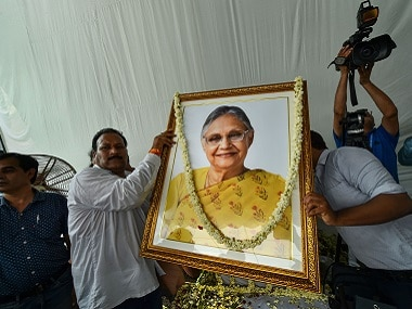 Sheila Dikshit passes away; news updates: Ex-Delhi CM cremated with full state honours; leaders from across party lines present