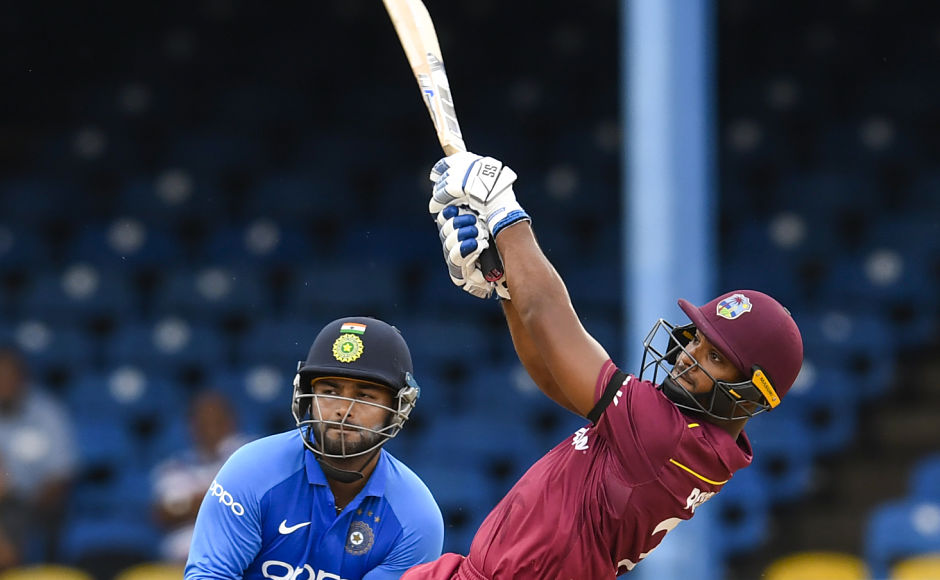 The match was paused for a long time due to rain and once it was restarted, it was reduced to 35-over per innings game. Nicholas Pooran's 30-run knock helped West Indies post 240/7 in the first innings. AFP