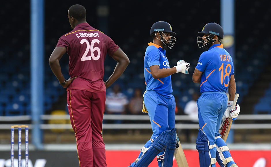 Virat Kohli and Shreyas Iyer played crucial knocks in the third ODI to seal victory for India by six wickets at Port of Spain (D\L method) and also clinch the three-match 50-over series 2-0. AFP