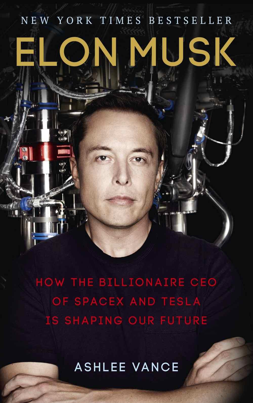 Elon Musk- Ashlee Vance. Image credit: Amazon