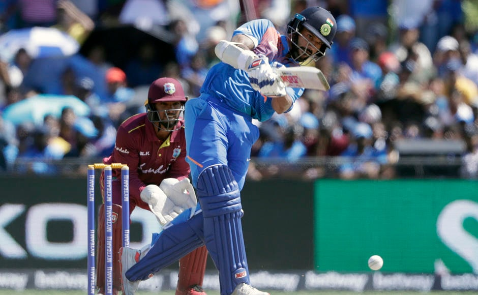 Virat Kohli won the toss and elected to bat first. Both the openers Shikhar Dhawan and Rohit Sharma were off to a good start, adding 67 runs for the first wicket. AP