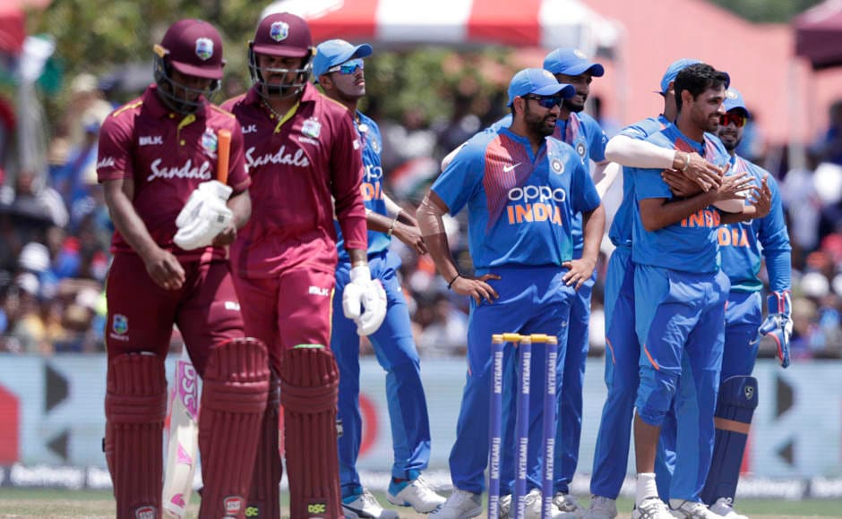 West Indies began the chase on a woeful note, losing both their openers cheaply. Rovman Powell and Nicholas Pooran then shared a decent partnership. AP
