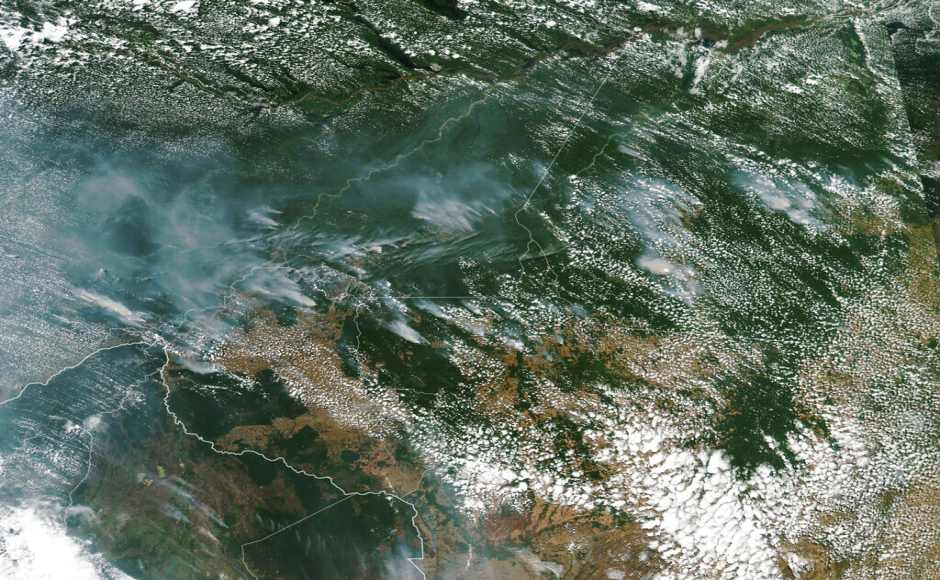 Amazon forest fires rise by 83%, says Brazil space agency; findings raise concerns over govt's environmental policies