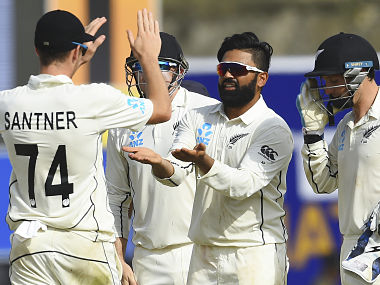 Sri Lanka vs New Zealand: Black Caps spinner Ajaz Patels impressive five-wicket haul restricts hosts to 227-7 on Day 2 of first Test