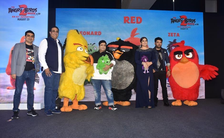 Angry Birds Movie 2 Kapil Sharma Archana Puran Singh Kiku