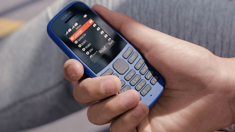 Nokia 105 feature phone launched in India, priced at Rs 1,199