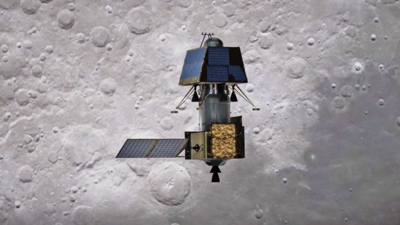 Chandrayaan 2 spacecraft set to make a final orbit-lowering manoeuvre at 6 pm today