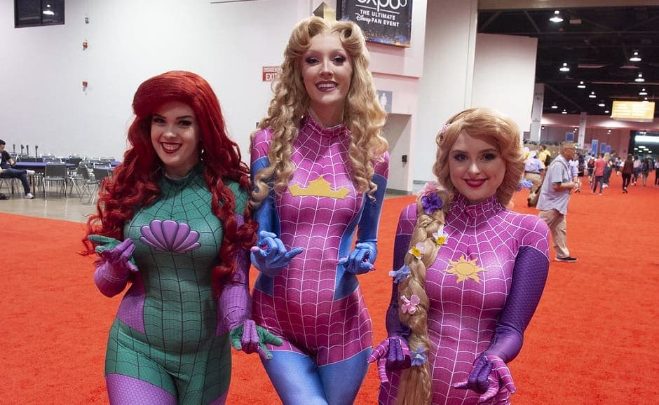Highlighting their favorites from across the Marvel universe all the way back to animated classics like The Little Mermaid and Sleeping Beauty, fans turned out in huge numbers showcasing their creative versions | The Walt Disney Company