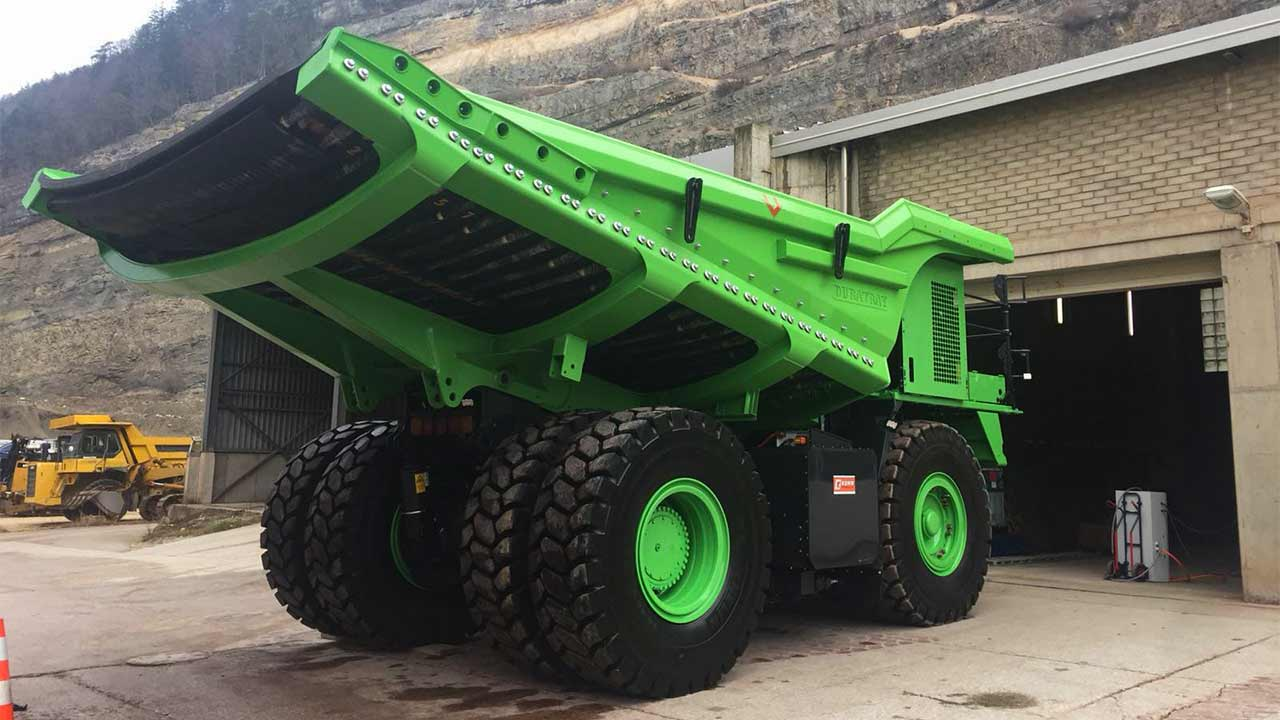 World's largest electric vehicle is a 110-tonne dump truck