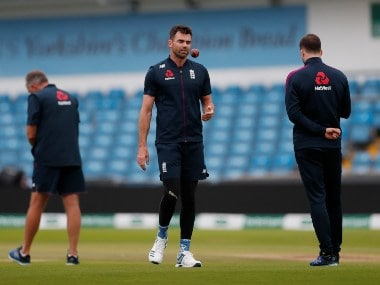 South Africa vs England: Visitors left without James Anderson for remainder of series as pacer flies home after picking up rib injury